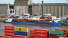 JOSAMO Loaded with AGNO Buses Port of Buenos Aires 12-12-2015 08-09-08