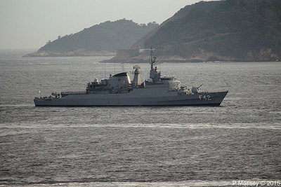 Warships at Rio de Janeiro 9 Dec 2017