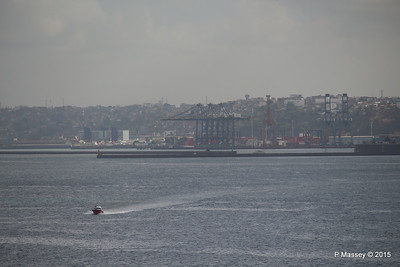 Pilot Launch Approaching from Port of Salvador 07-12-2015 07-27-50