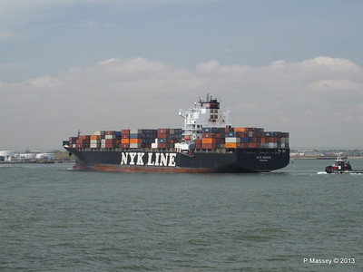 NYK REMUS Arriving Bayonne 7 May 13