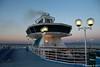 CELESTYAL OLYMPIA Horizon Bar Funnel Early AM Approaching Piraeus PDM 19-06-2017 04-05-27