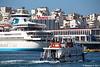 SALAMIS EXPRESS I Departing Piraeus CELESTYAL OLYMPIA PDM 19-06-2017 07-31-06