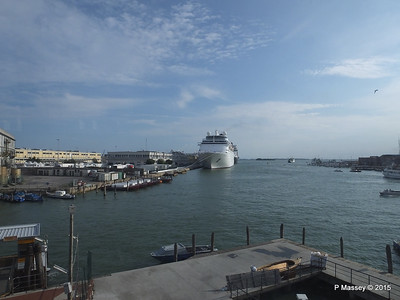 COSTA neoCLASSICA From Tronchetto People Mover Venice 26-07-2015 16-18-42