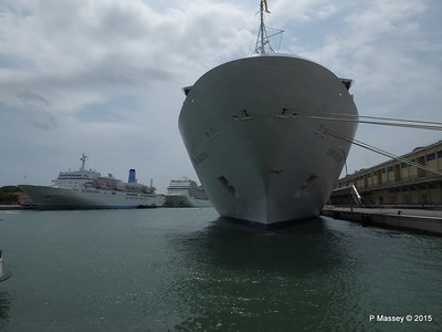 THOMSON CELEBRATION COSTA DELIZIOSA MSC MAGNIFICA Venice 26-07-2015 12-11-40