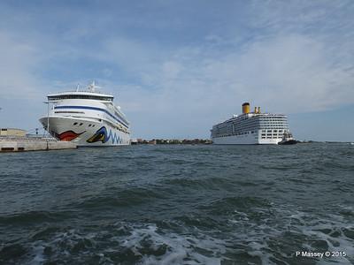 COSTA DELIZIOSA Departing Venice AIDAvita 26-07-2015 15-59-41