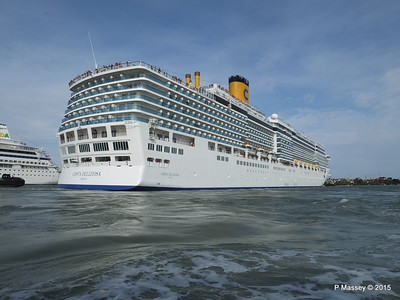 26, 27 Jul 2015 7 Cruise Ships at Venice