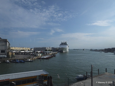 COSTA neoCLASSICA From Tronchetto People Mover Venice 26-07-2015 16-18-44