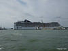 MSC MAGNIFICA Reversing from Cruise Terminal Venice 26-07-2015 14-40-49