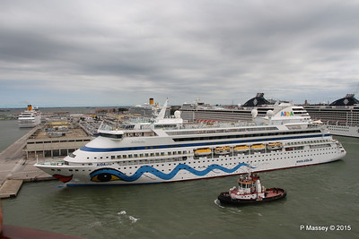26 Jul 2015 Passing Cruise Terminal Venice