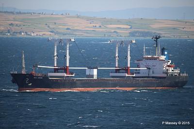 SEA AMORE Approaching Gallipoli 19-07-2015 08-53-54