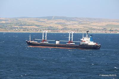SEA AMORE Approaching Gallipoli 19-07-2015 08-56-07