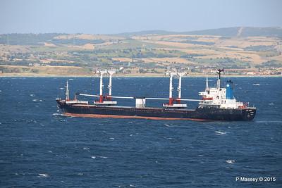 SEA AMORE Approaching Gallipoli 19-07-2015 08-56-15