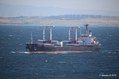 SEA AMORE Approaching Gallipoli 19-07-2015 08-53-27