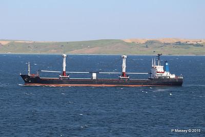 SEA AMORE Approaching Gallipoli 19-07-2015 08-55-06