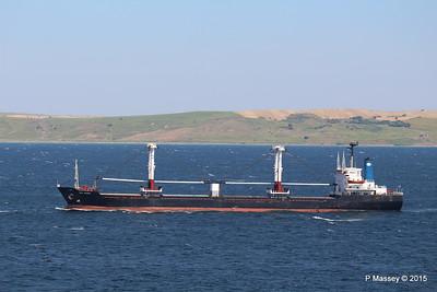 SEA AMORE Approaching Gallipoli 19-07-2015 08-55-05