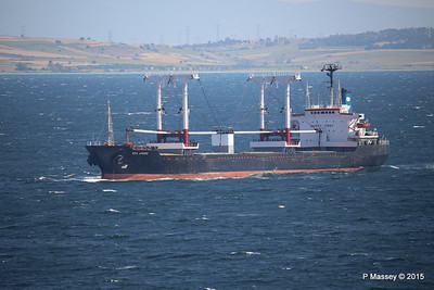 SEA AMORE Approaching Gallipoli 19-07-2015 08-53-34