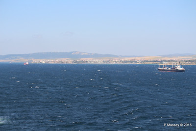 WAPPEN VON STUTTGART SEA AMORE Approaching Gallipoli 19-07-2015 08-57-11