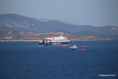 NISSOS RODOS KORALLE Departing Mytilene PDM 21-07-2015 07-57-41