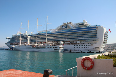 EMERALD PRINCESS WIND STAR Kusadasi 22-07-2015 07-56-29
