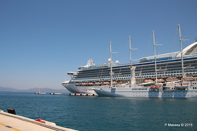 EMERALD PRINCESS WIND STAR Kusadasi 22-07-2015 11-16-32