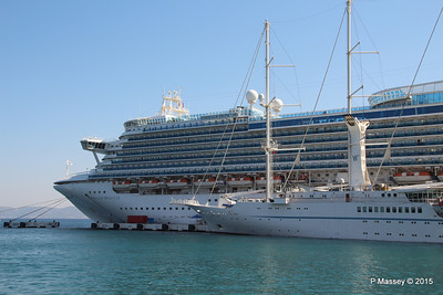 EMERALD PRINCESS WIND STAR Kusadasi 22-07-2015 07-52-46