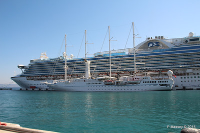 EMERALD PRINCESS WIND STAR Kusadasi 22-07-2015 07-53-31