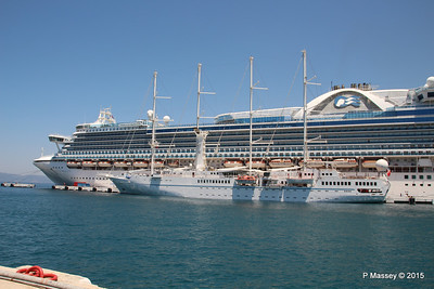 EMERALD PRINCESS WIND STAR Kusadasi 22-07-2015 11-16-34