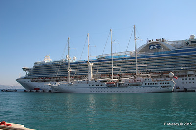 EMERALD PRINCESS WIND STAR Kusadasi 22-07-2015 07-53-32