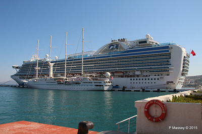 EMERALD PRINCESS WIND STAR Kusadasi 22-07-2015 07-56-35