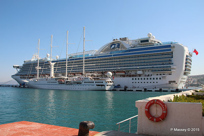 EMERALD PRINCESS WIND STAR Kusadasi 22-07-2015 07-56-27