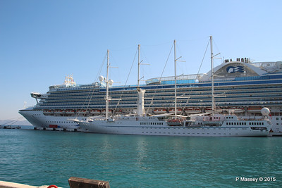 EMERALD PRINCESS WIND STAR Kusadasi 22-07-2015 07-52-55