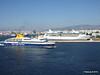 BLUE STAR PATMOS Passing RHAPSODY OF THE SEAS Piraeus PDM 23-07-2015 15-01-00