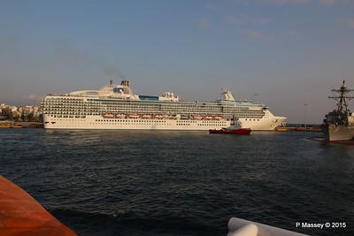 ISLAND PRINCESS Piraeus 19 Oct 2015