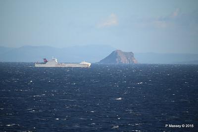 Distant Vessels off Sardinia 25 Nov 2015