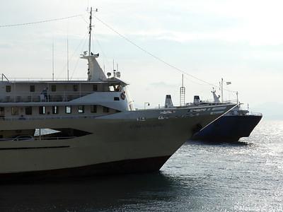 AGIOS NEKTARIOS AIGINAS with POSIDON HELLAS Departing Aegina PDM 14-09-2018 18-04-20