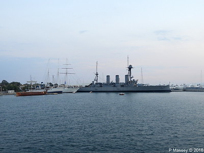 OLYMPIAS THALIS O MILISSIOS EUGENIOS EUGENIDES Battleship GEORGIOS AVEROF Flisvos PDM 14-09-2018 19-35-03