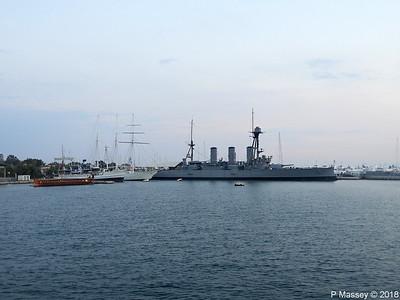 OLYMPIAS THALIS O MILISSIOS EUGENIOS EUGENIDES Battleship GEORGIOS AVEROF Flisvos PDM 14-09-2018 19-35-01