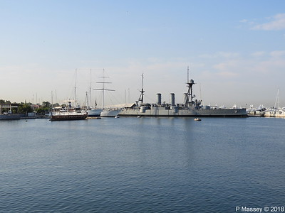 OLYMPIAS THALIS O MILISSIOS EUGENIOS EUGENIDES Battleship GEORGIOS AVEROF Flisvos PDM 14-09-2018 08-25-13