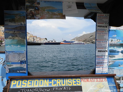 FAN ONE NIKOLAOS X KARTEPE Departing PANAGIA SKIADENI through Poseidon Cruies Kiosk PDM 12-09-2018 14-01-18