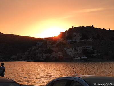 Sunset over Ano Symi PDM 12-09-2018 19-03-18