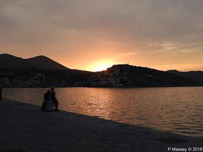 Sunset over Ano Symi PDM 12-09-2018 19-03-33