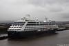 AZAMARA PURSUIT Ship Repair Quay H&W Queen's Island Belfast 04-04-2018 17-13-52