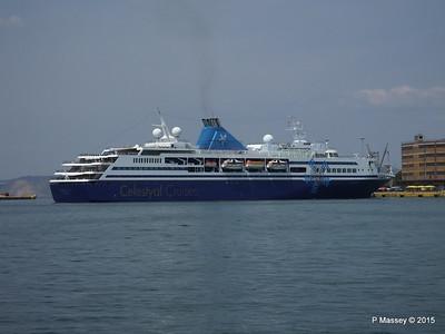 CELESTYAL ODYSSEY Departing Piraeus PDM 01-06-2015 08-31-42