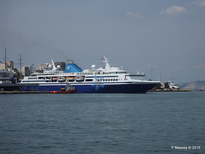 CELESTYAL ODYSSEY Departing Piraeus PDM 01-06-2015 08-27-26