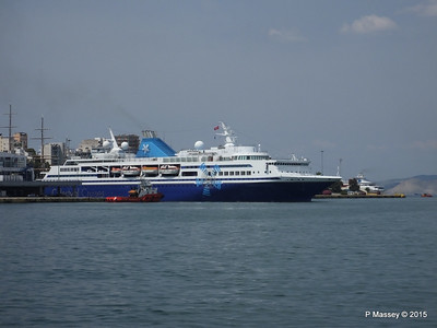 CELESTYAL ODYSSEY Departing Piraeus PDM 01-06-2015 08-27-27