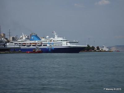 CELESTYAL ODYSSEY Departing Piraeus PDM 01-06-2015 08-27-20