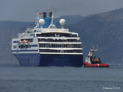CELESTYAL ODYSSEY Departing Piraeus PDM 01-06-2015 08-38-060