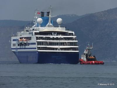 CELESTYAL ODYSSEY Departing Piraeus PDM 01-06-2015 08-38-060