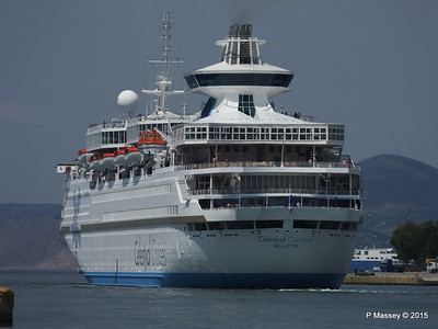 CELESTYAL OLYMPIA Departing Piraeus PDM 01-06-2015 08-20-09