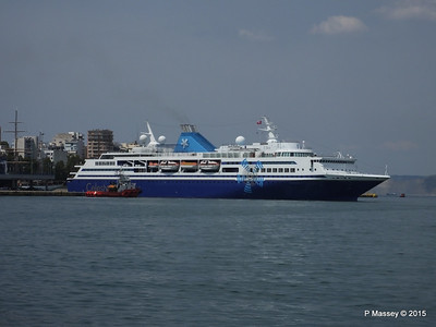 CELESTYAL ODYSSEY Departing Piraeus PDM 01-06-2015 08-27-48